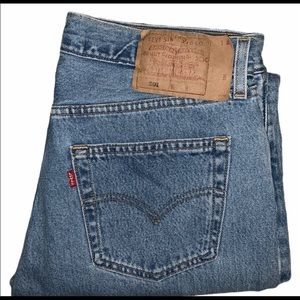 Vintage made in the USA Levi's 501 Jeans